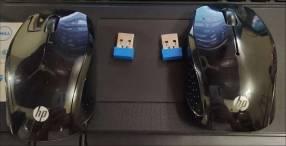 Mouses inalámbricos HP 200 Black