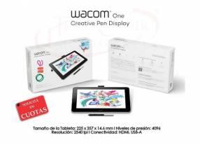 Tableta Gráfica Wacom One Creative Pen Display