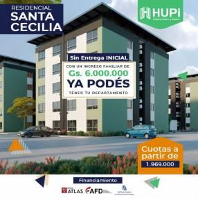 Departamento residencial Santa Cecilia