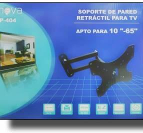 Soporte para TV giratorio hasta 65 pulgadas
