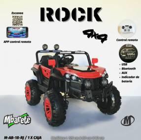 Auto a batería modelo Rock