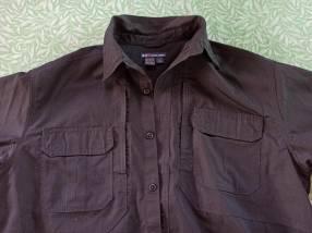 Camisa táctica negra 5.11 tamaño L