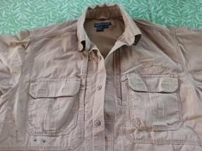 Camisa táctica caqui 5.11 tamaño M
