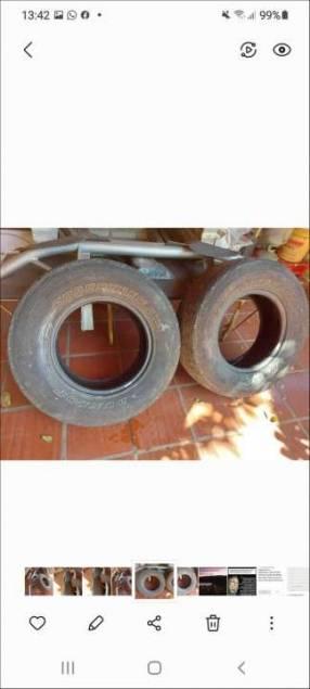 Cubiertas para auxilio 265/70 R16