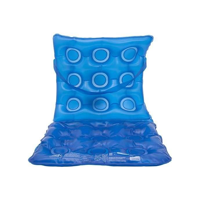 Almohada gel aire para silla de ruedas combinada - 0