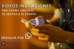 Invitación en vídeo personalizados