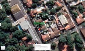 Terreno de 839 m2 en el microcentro de San Lorenzo