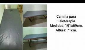 Camilla para fisioterapia