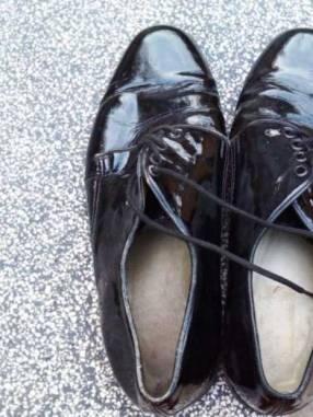Zapatos para policías o militares