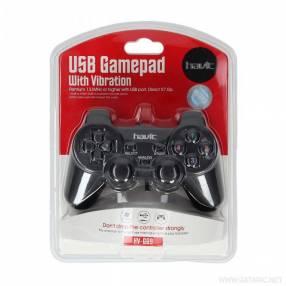 Control joystick USB PlayStation Havit con vibración
