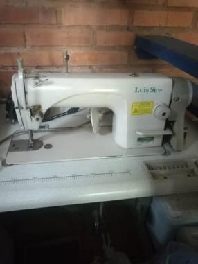 Máquinas de coser industrial y motor