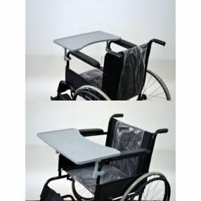 Mesita de alimentación para silla de ruedas