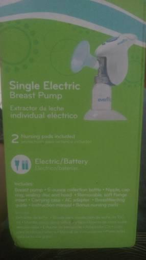 Extractor de leche eléctrico y a batería Evenflo