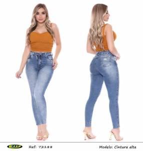 Jeans para dama R.I. 19 elastizados