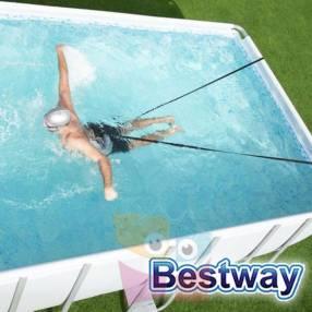 Correa de resistencia para natación Bestway Hydro-Pro Flowclear