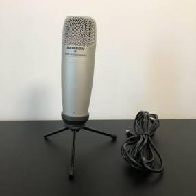 Micrófono condensador usb Samson C01U