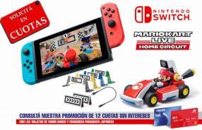 Nintendo Switch + Mario Kart Live Home Circuit Mario Set