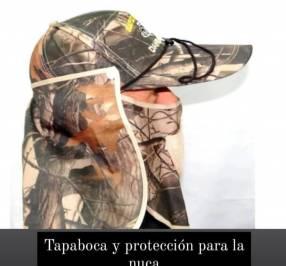Tapaboca y protección de nuda