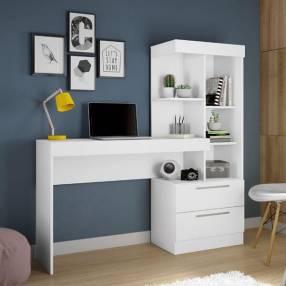 Escritorio office c/ cómoda Abba blanco flex NT2010