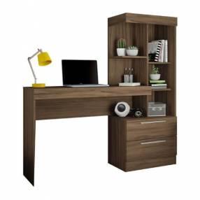 Escritorio office con cómoda marrón Trend NT2010 Abba