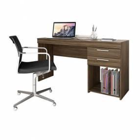 Escritorio office marrón 120 cm