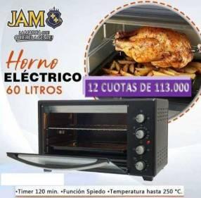 Horno eléctrico JAM 60 litros