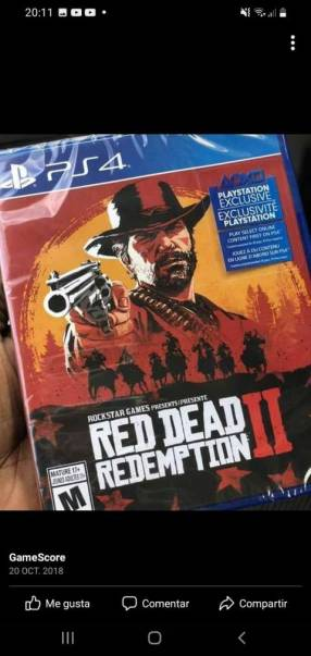 Red Read Redemption II para PS4