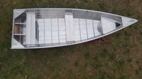 Lancha de aluminio naval de 4,0 mts Navessa Eco 400V