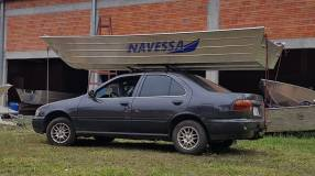 Lancha de aluminio naval borda alta 5 m KP 500 Navessa