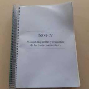 DSM-IV Manual diagnóstico y estadístico de trastornos mentales