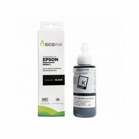 Tinta compatible Ecoink 100ml para Epson serie L negro