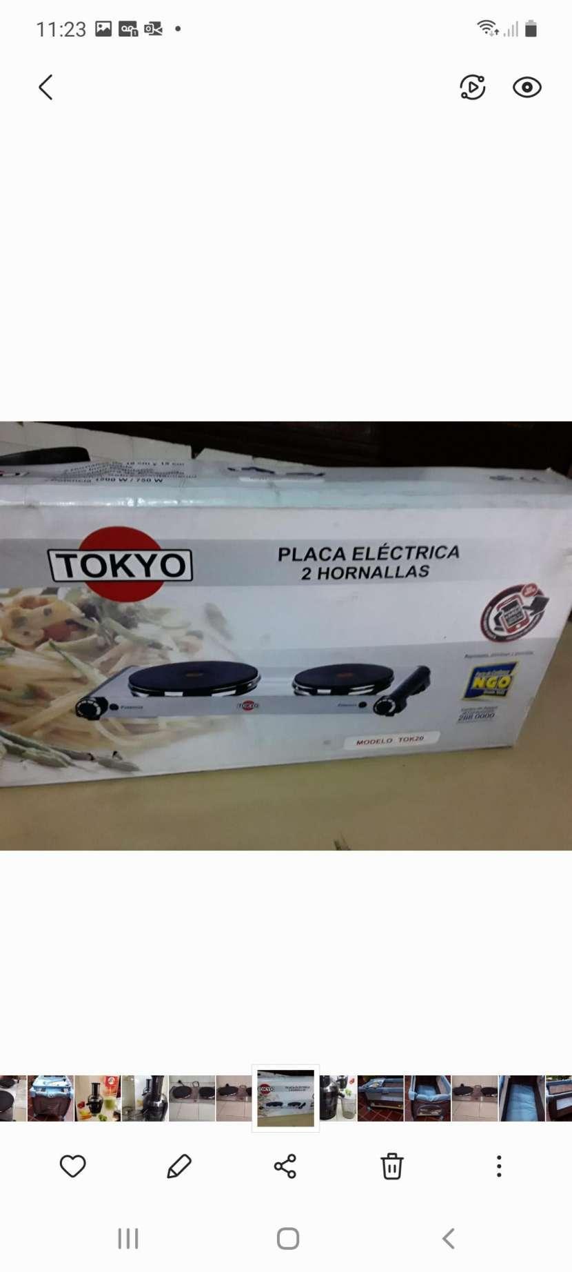 Placa eléctrica - 0