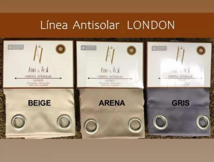 Cortinas antisolares 1.35 x 2.30 - 1