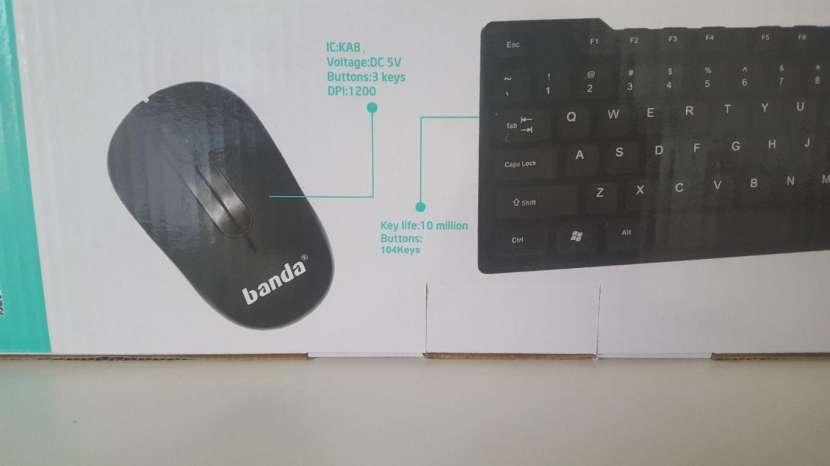 Combo de mouse y audífonos inalámbricos Banda - 2
