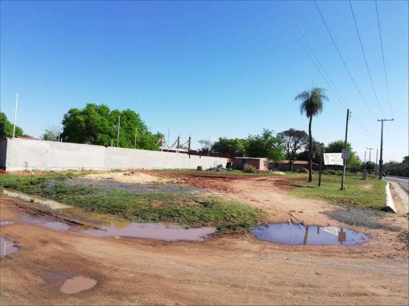 Terreno 1.000 m2 frente a ruta asfaltada en Ypané - 1