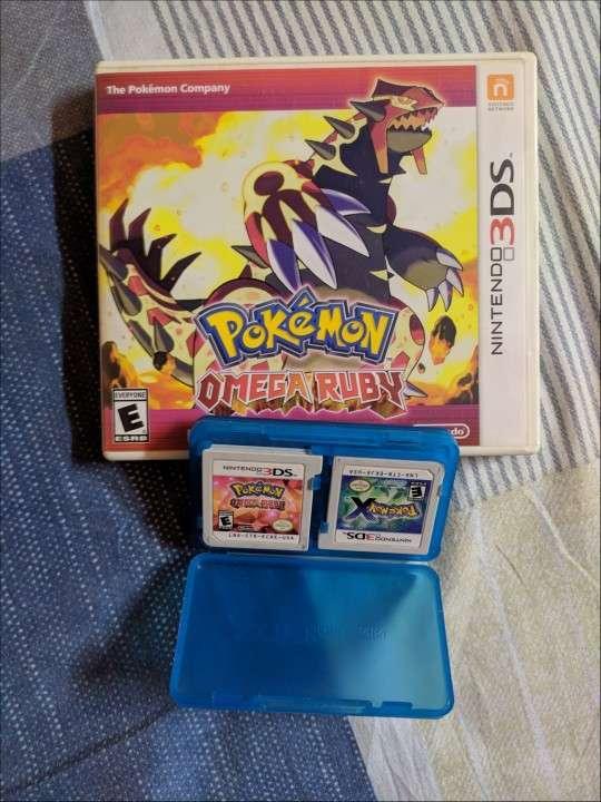Pokémon X + Pokémon Omega Ruby - 0