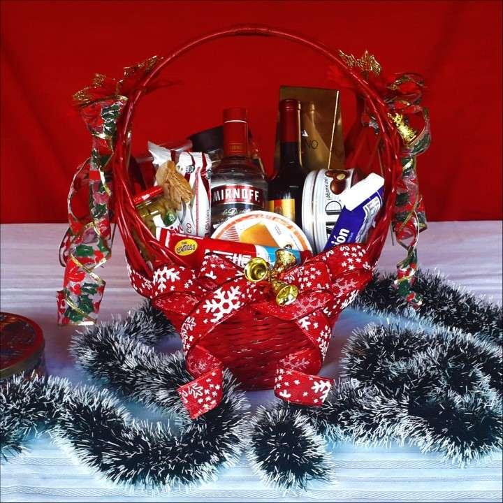 Canastas y bandejas navideñas - 1