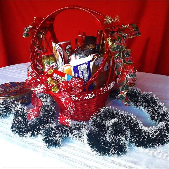 Canastas y bandejas navideñas - 0