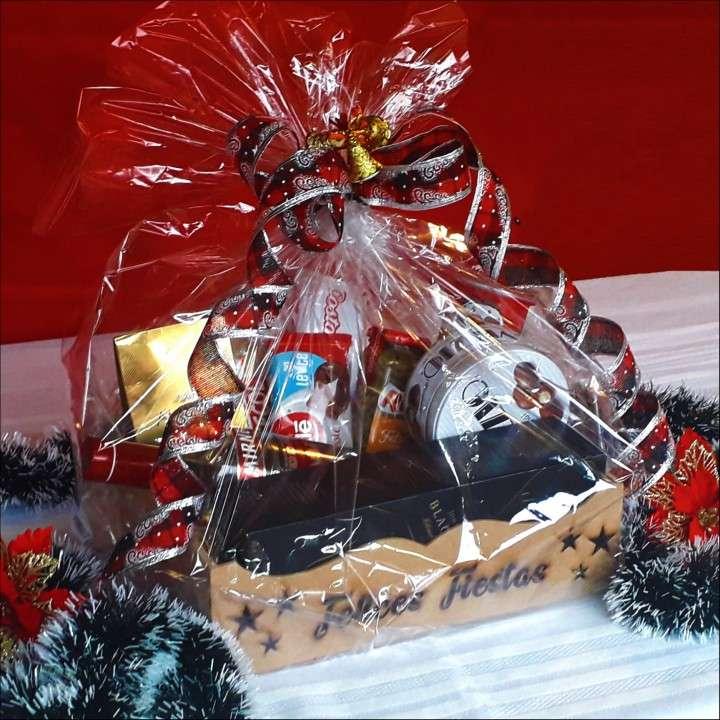 Canastas y bandejas navideñas - 2