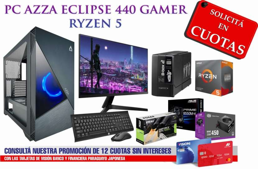 PC Gamer Azza Eclipse 440 Ryzen 5 - 0