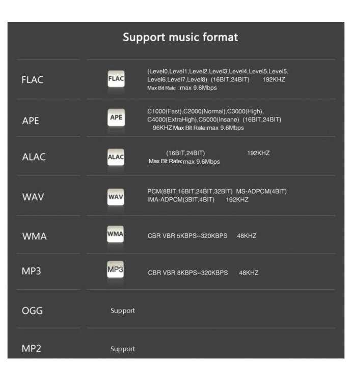 Reproductor de audio MP3 FLAC Hi-res y grabador ONN X5 - 4