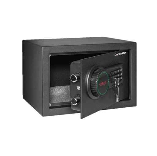 Caja fuerte de seguridad con LCD chica Consumer - 0