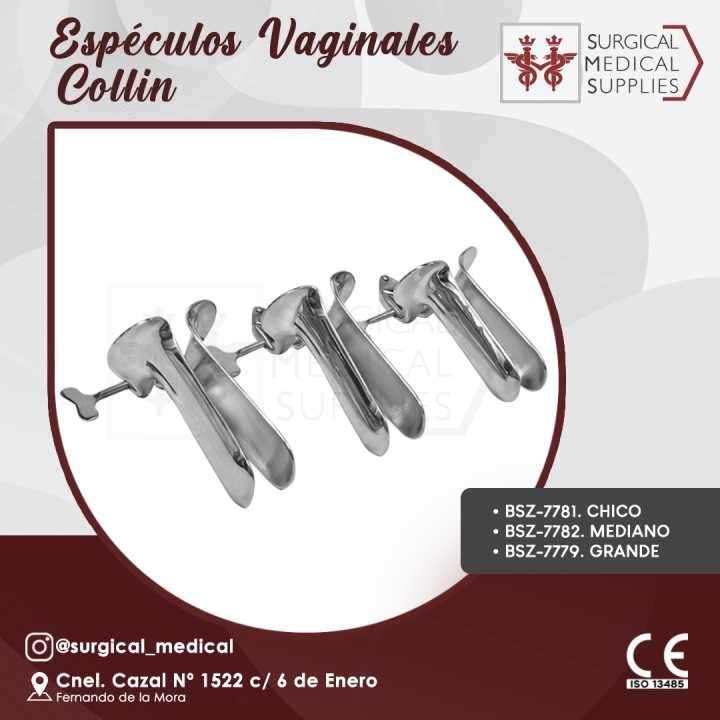 Espéculo vaginal chico o mediano Collin - 0