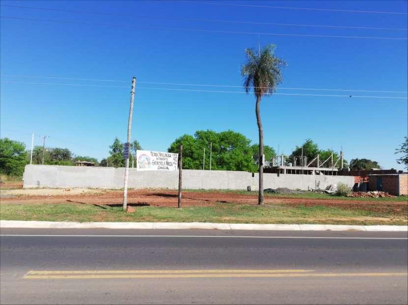 Terreno 1.000 m2 frente a ruta asfaltada en Ypané - 0