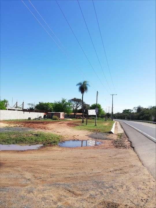 Terreno 1.000 m2 frente a ruta asfaltada en Ypané - 5