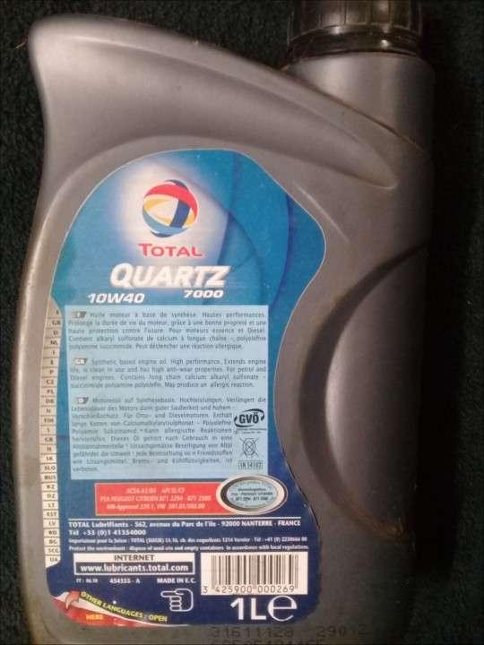 Aceite sintético 10W 40 - 1