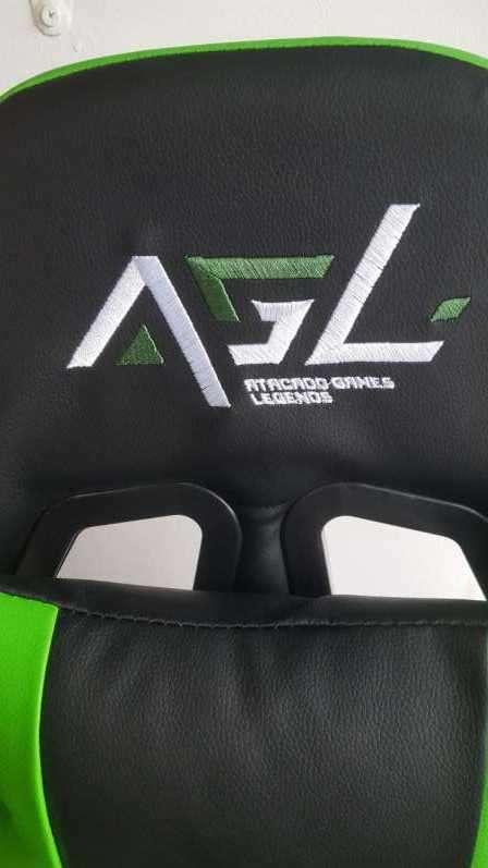 Silla gamer Racing Legends verde - 1