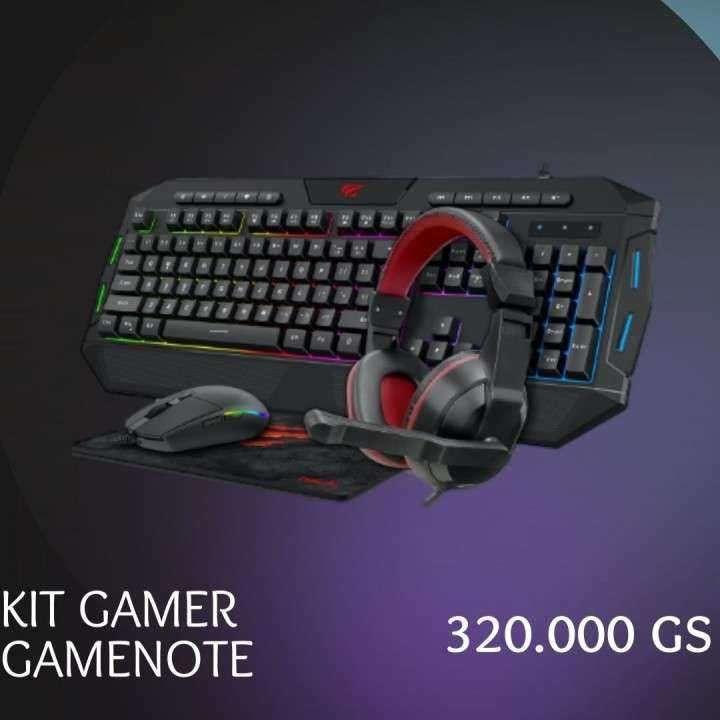 Kit gamer Gamenote 4 en 1 - 0