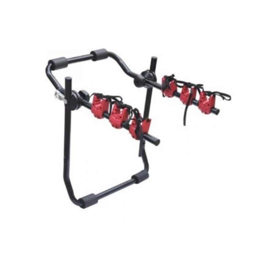 Soporte bicicleta para auto hasta 3 bicicletas 40 kilos 10229 - 0