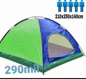 Camping para 4 personas